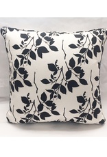 Craft Studio Black and White Floral COVER ONLY 40x40cm