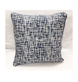 Craft Studio Rushes Navy Floral Cushion Cover 40x40cm