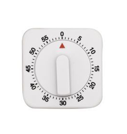 Avanti Homewares Mechanical Timer - White