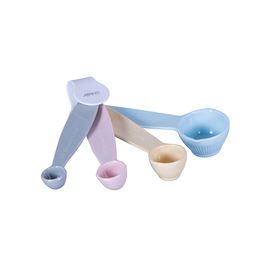 Avanti Homewares Ribbed Measuring Spoons Pastel