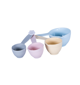 Avanti Homewares Ribbed Measuring Cups - Pastel