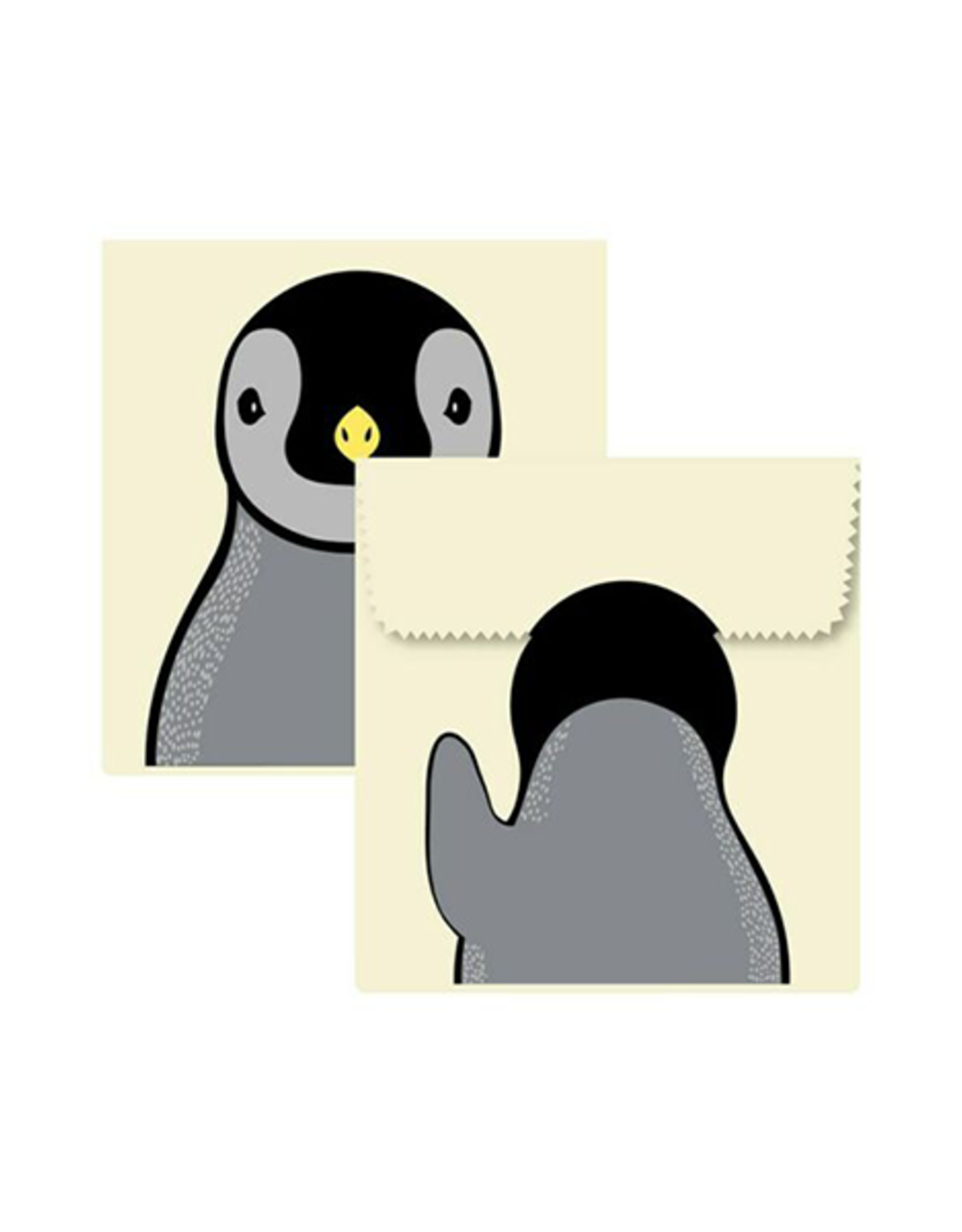 Beeswax Sandwich Pouch - Penguin S/2