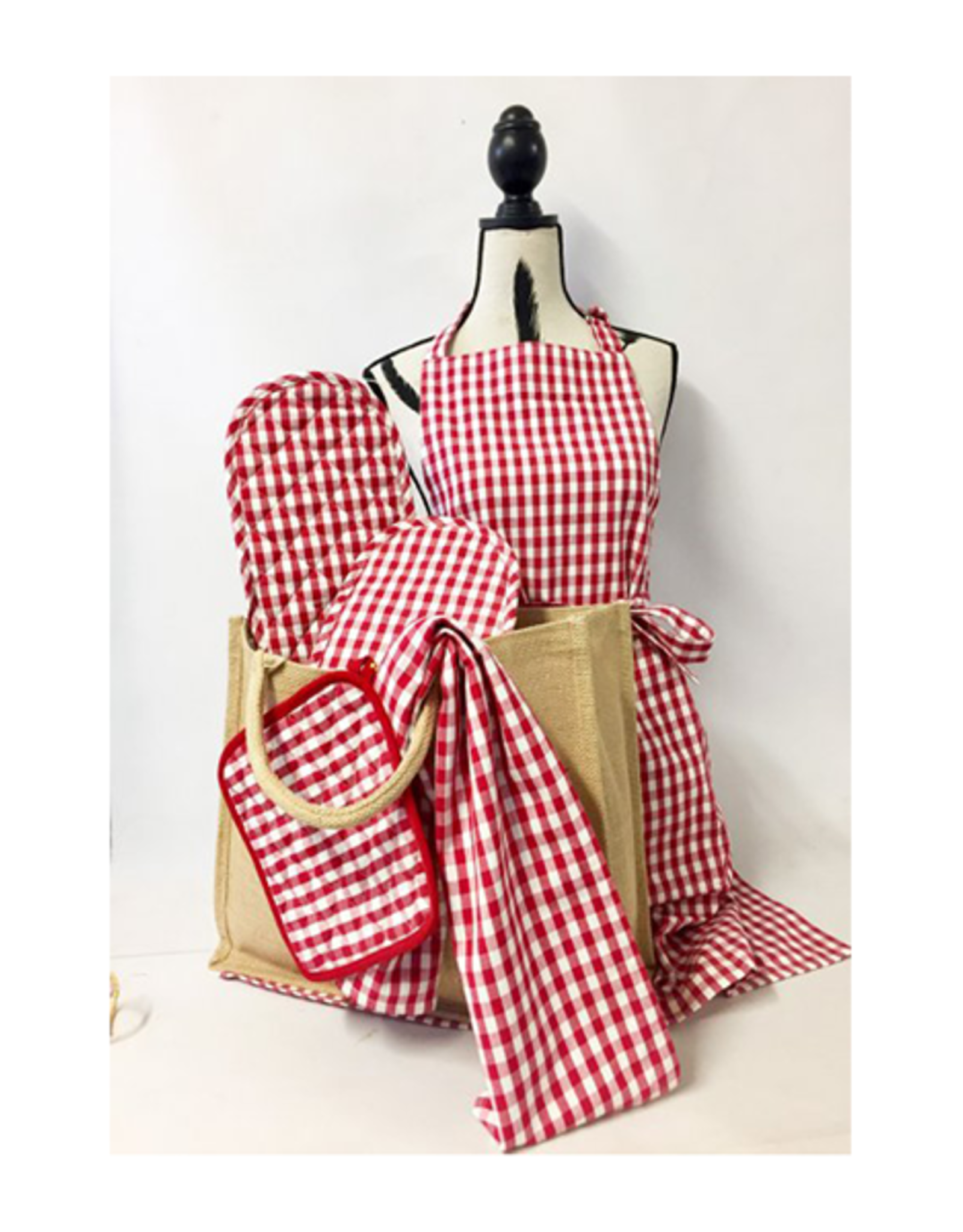 Craft Studio Gift Hamper Country Gingham Check Red