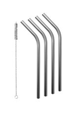 Avanti Homewares Stainless Steel Reusable Straws Set