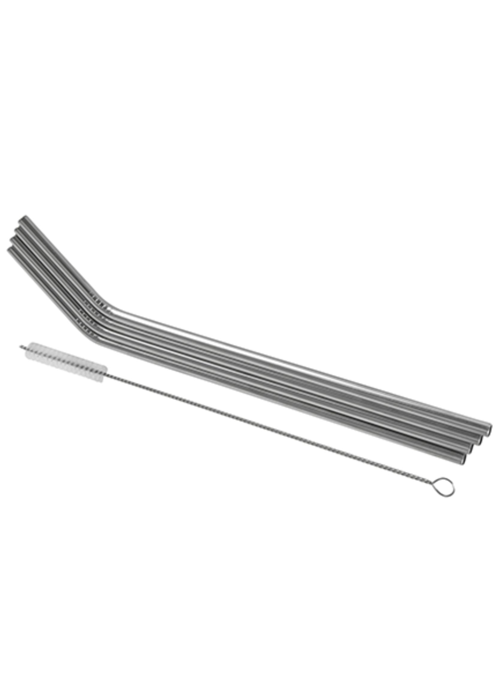 Avanti Homewares Stainless Steel Reusable Straws Set