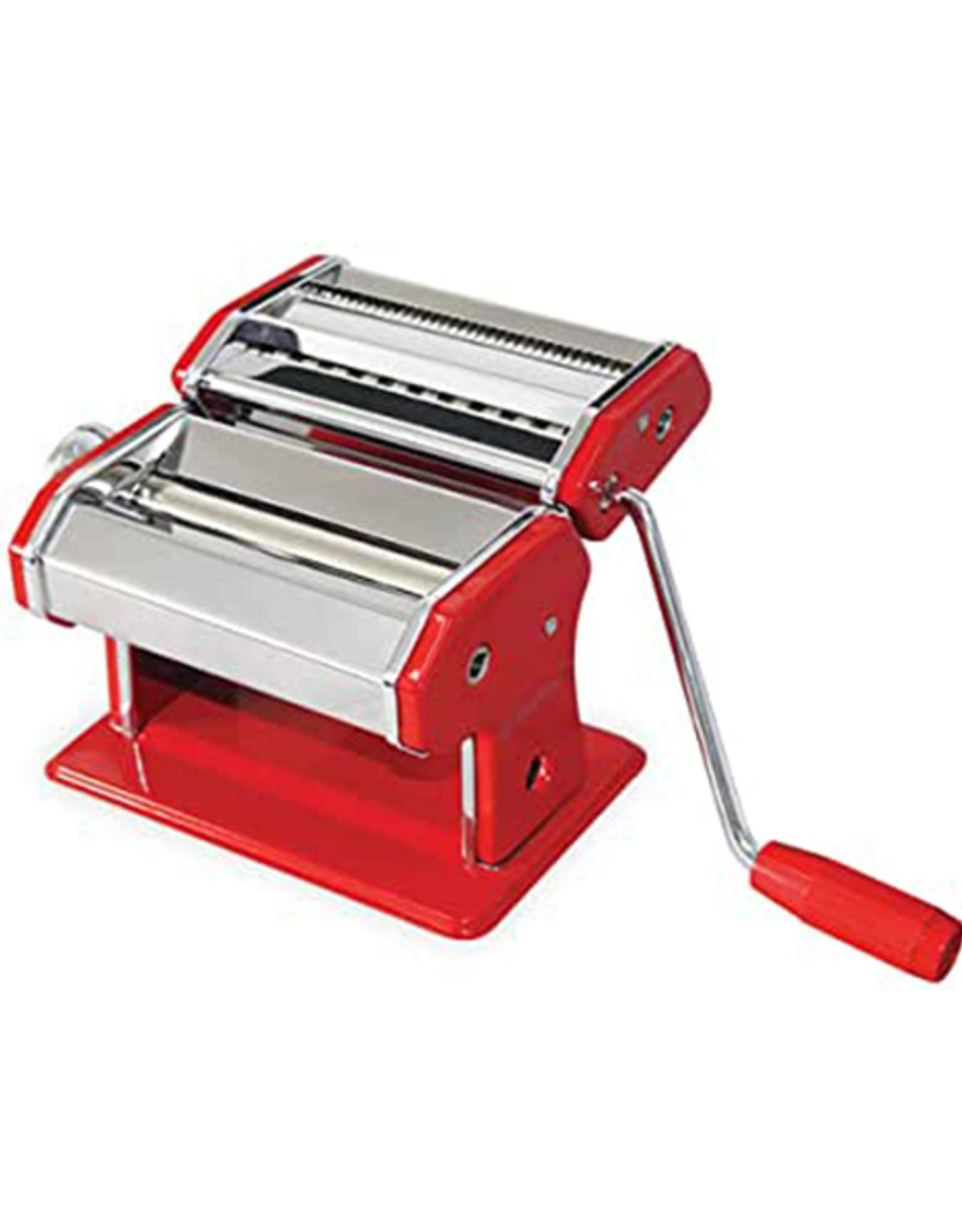 Avanti Homewares S/S Pasta Making Machine 150mm Red