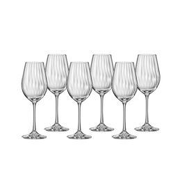 Waterfall Wine Glass Set/6 350ml