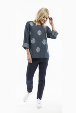 Orientique Denim Block Top 9352