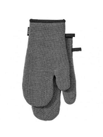 Eco Recycled Charcoal 2pk Oven Mitt