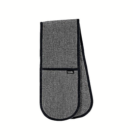 Eco Recycled Charcoal Double Oven Mitt
