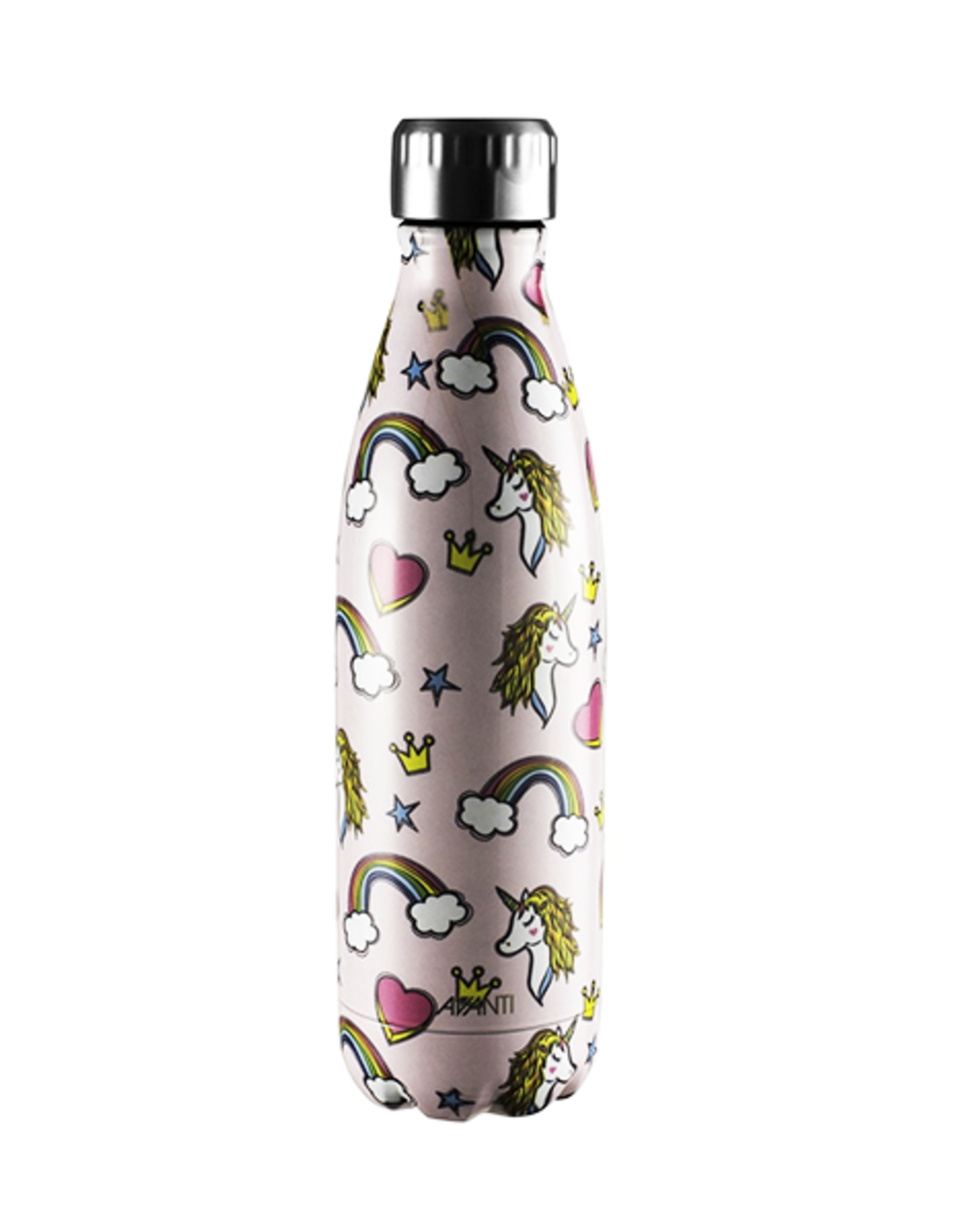Avanti Homewares Fluid Bottle 500ml - Unicorn