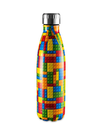 Avanti Homewares Fluid Bottle 500ml - Building Blocks