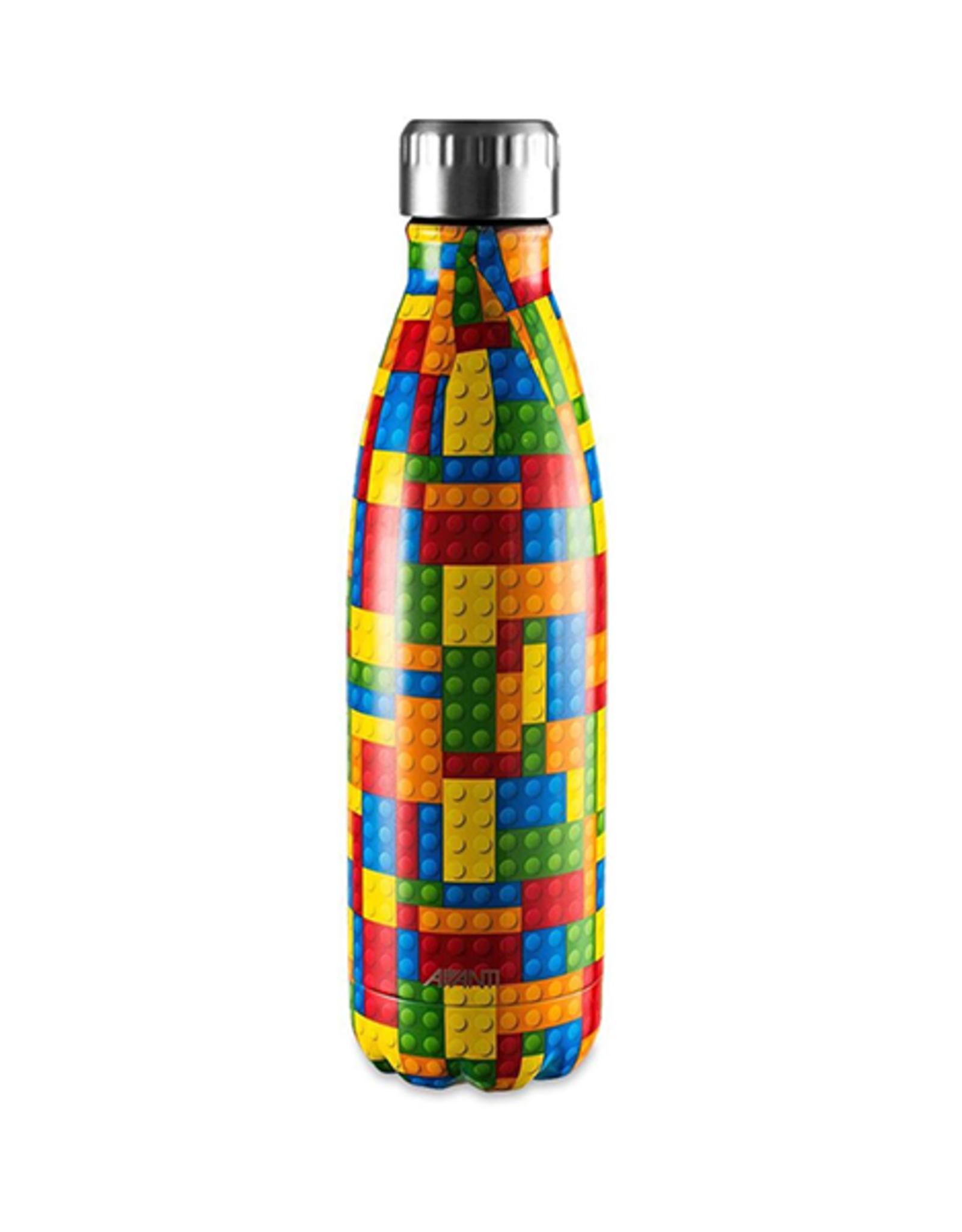 Avanti Homewares Fluid Bottle 500ml - Building Blocks