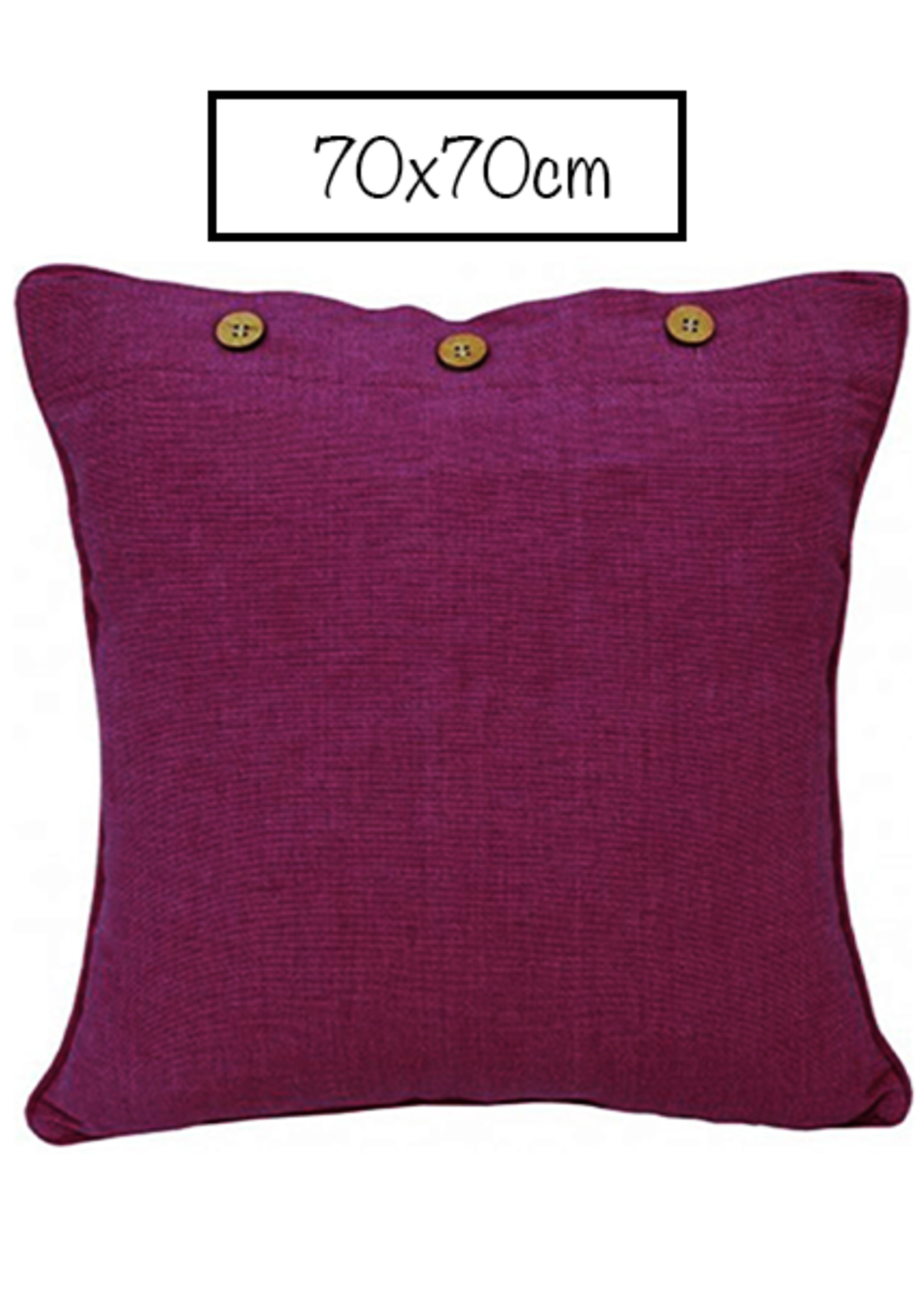 Craft Studio Pink Purple Cushion Cover 70x70cm