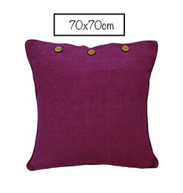 Craft Studio Pink Purple Cushion Cover 70x70cm