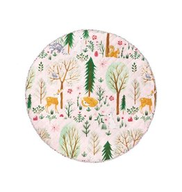 Linen House Hiccups Playmat Woodlandia Multi