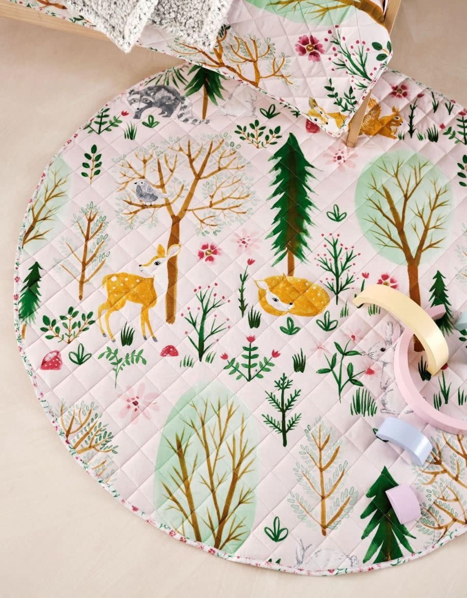 Linen House Hiccups Playmat Woodlandia Multi
