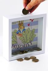 Beatrix Potter Peter Rabbit Money Bank Getting into Mischief