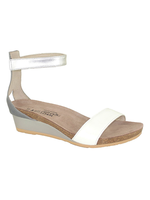 Naot Footwear Pixie in White Silver Combo