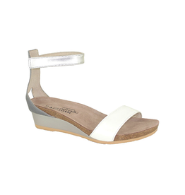 Naot Footwear NAOT Pixie in White Silver Combo