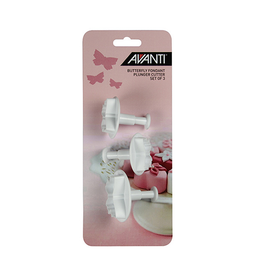 Avanti Homewares Butterfly Fondant Plunger Cut Set 3pce