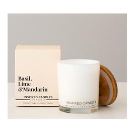 Basil, Lime & Mandarin Candle