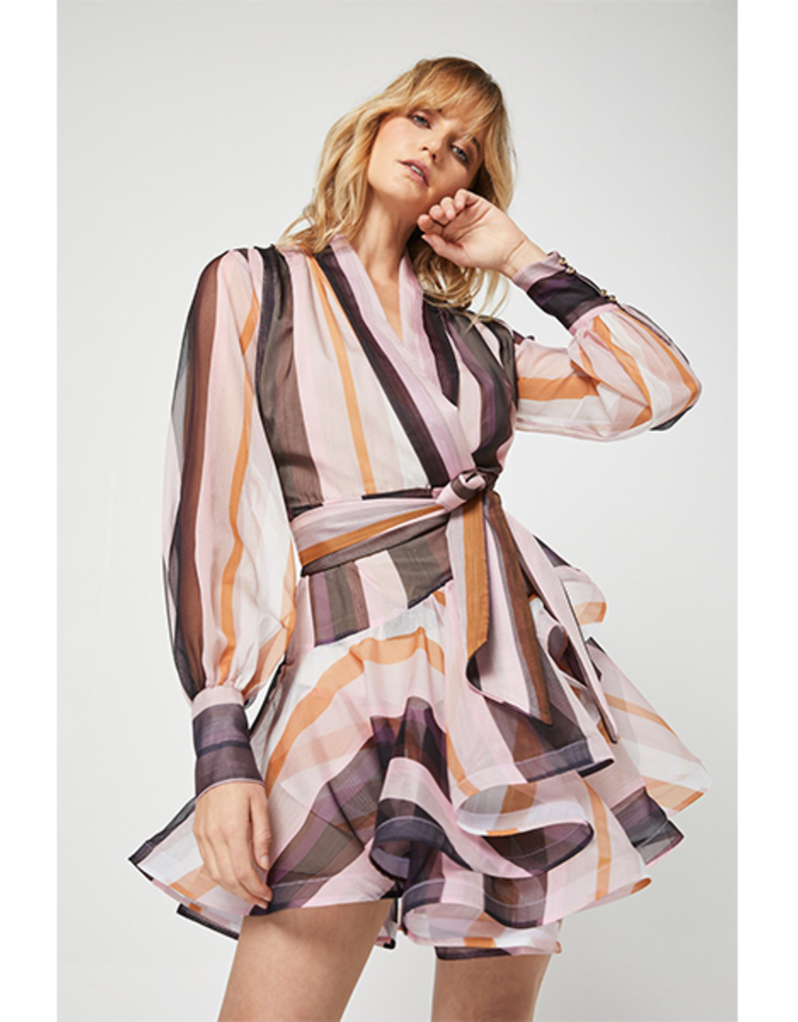 Elliatt Cynthia Dress in Stripe