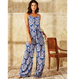 Totem Ochie Jumpsuit in Aloha Blue