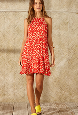 Totem Halaula Dress Antic Coral