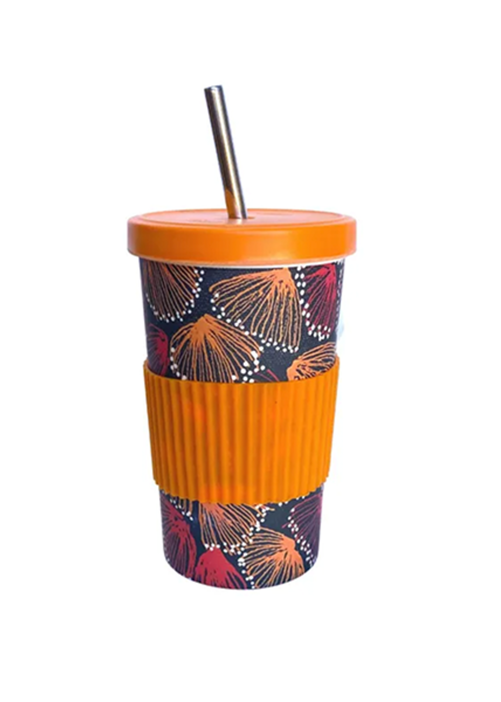Utopia Large Tumbler Straw with Lid - Selina Teece