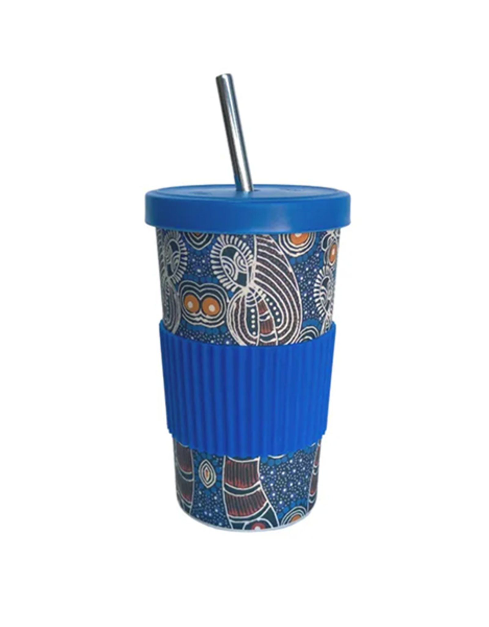 Utopia Large Tumbler Straw/Lid - Colleen Wallace 147