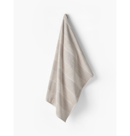 Linen House Bath Towel Velour Stripe Linen