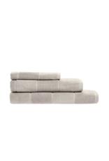 Linen House Bath Towel Velour Stripe Linen