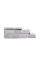 Linen House Bath Towel Velour Stripe in Silver