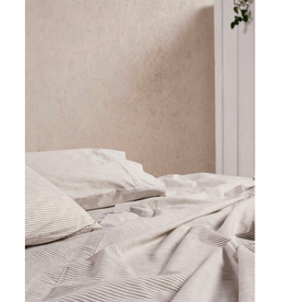 Linen House QB Sheet Set Sadie Taupe