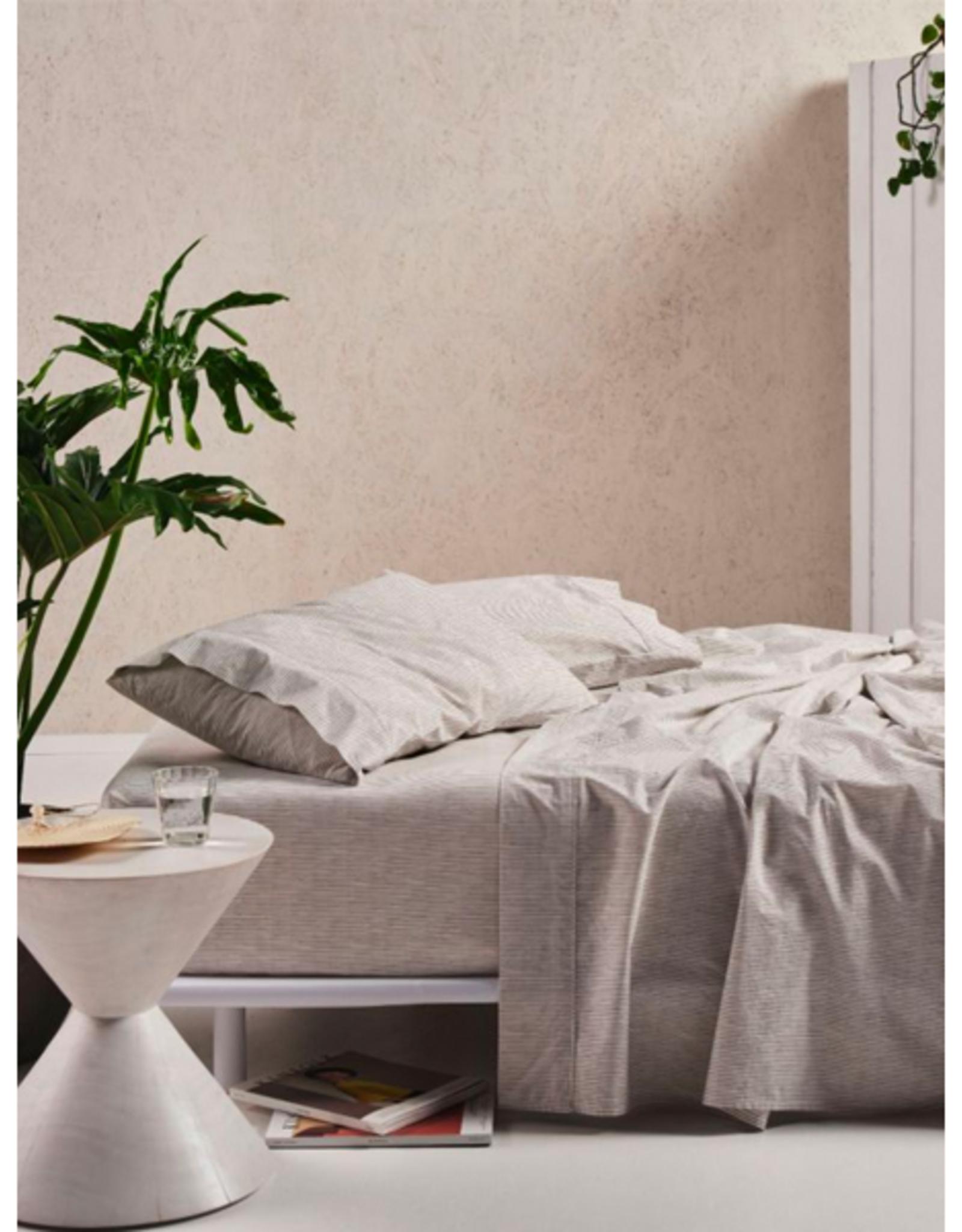 Linen House QB Sheet Set Sadie Sadie Taupe