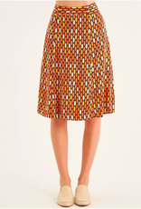 Totem Gauguin Skirt in Bintang Orange