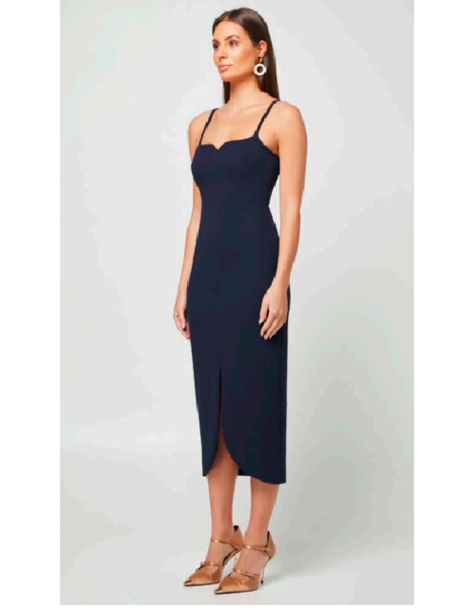 Elliatt Reflect Dress in Midnight