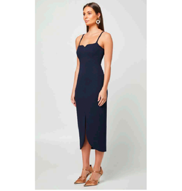 Elliatt Reflect Dress in Midnight