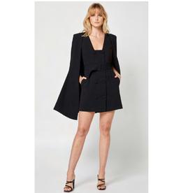 Elliatt Suzanne Suiting Cape in Black