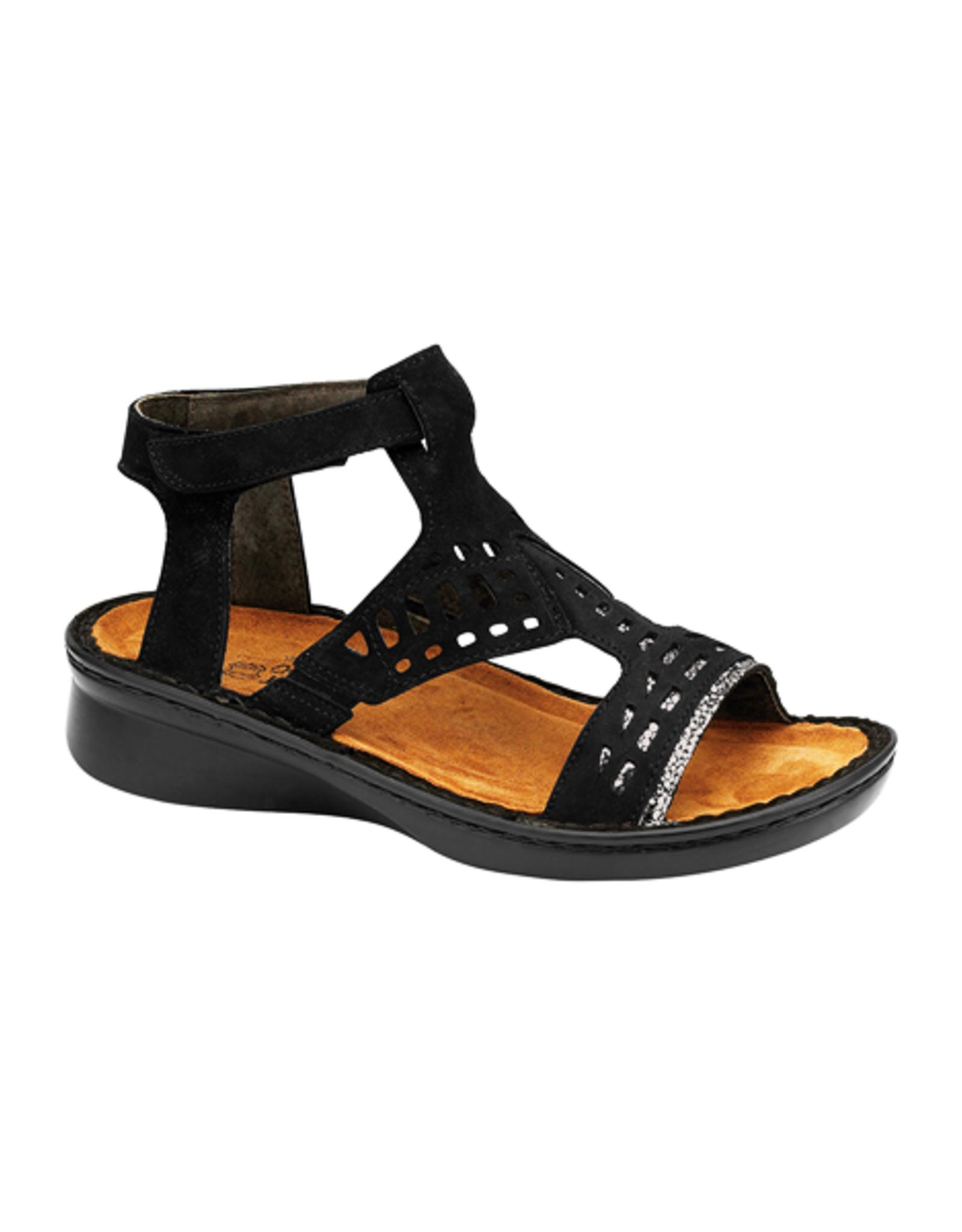 Naot Footwear String in Black Combo