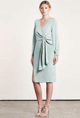 Elliatt Sway Twist Dress - Sage