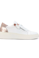 EOS Footwear Marble in White Combo Leather