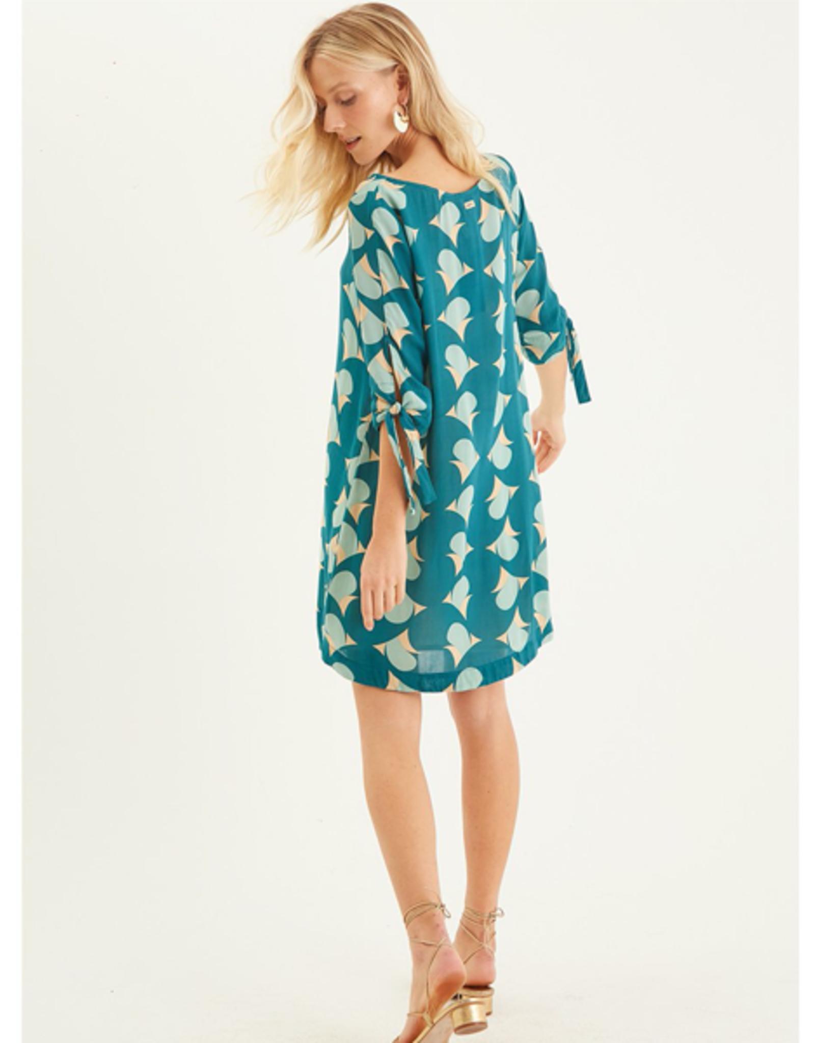 Totem Bogo Dress in Paradise Green