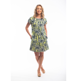 Orientique Evora Dress in Lime