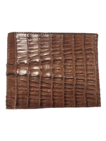 Crocodile & Stingray Products Men's Crocodile Wallet - Brown