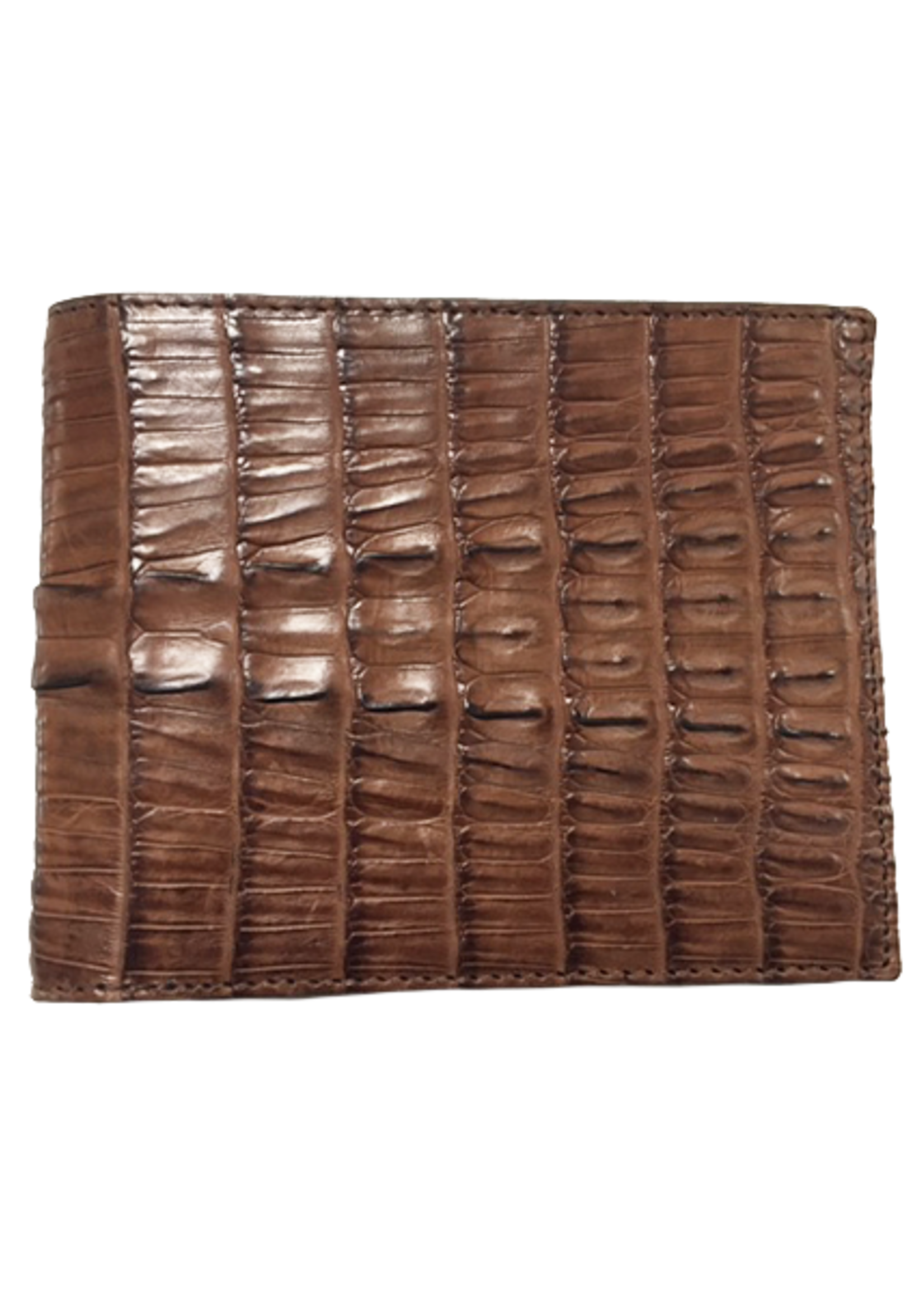 Crocodile & Stingray Products Men's Crocodile Wallet - Brown