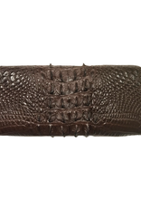 Crocodile & Stingray Products Ladies Crocodile Wallet - Brown