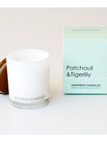 Botanical Candle - Patchouli and Tigerlily