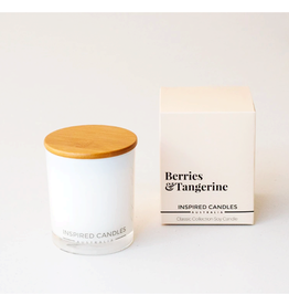 Berries and Tangerine Candle